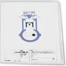 Durable Obwoluta przeźroczysta A4 0,12mm 100 sztuk