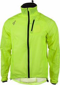 Rogelli OHIO - przeciwdeszczowa kurtka rowerowa, kolor: Fluor