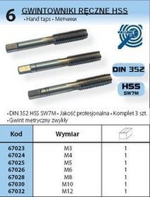 PROLINE RĘCZNE HSS WYMIAR M5 67025