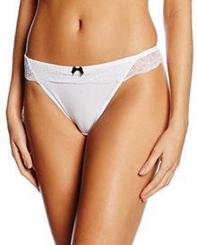 Palmers String Bright Lace dla kobiet, kolor: biały, rozmiar: 36 (rozmiar producenta: S (36-38))