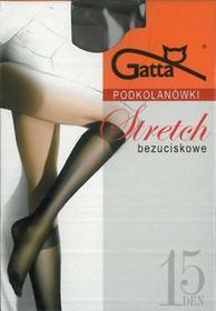 Gatta Podkolanówki Stretch bezuciskowe 15 DEN (2pary) Nero