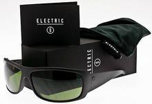 Electric okulary przeciwszłoneczne męskie CHARGE XL Gloss czarny/M Green