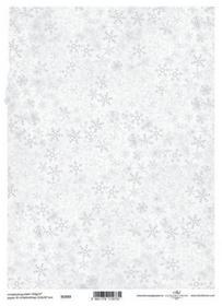 ITD Papier do scrapbookingu 250g A4 - 033 śnieżynk