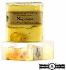 Mydło w kostce kastylijskie nagietkowe - Czyste mydło