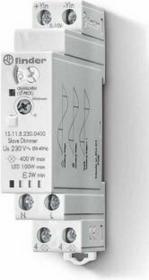 Finder Elektroniczny Przekaźnik impulsowy ze ściemniaczem, 500W 45-65Hz, funkcja