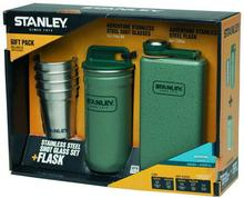 STANLEY Zestaw Adventure Piersiówka + 4 kieliszki zielony (10-01705-003) 10-0188