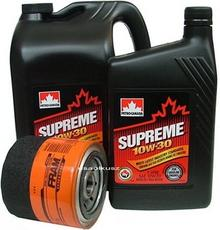 FRAM Filtr oleju PH16 oraz olej SUPREME 10W30 Chrysler Pacifica