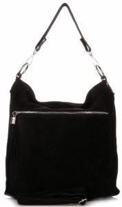 Genuine Leather Uniwersalne Torebki Skórzane Czarna (kolory) 1330cz
