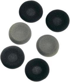 Gąbki do słuchawek 40 mm czarno szare