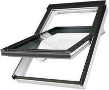 Fakro okno dachowe plastikowe obrotowe PTP-V U3 z nawiewnikiem 55x98 FAOKPTPU3-02