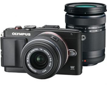OlympusE-PL6 + 14-42 II  + 40-150 kit czarny