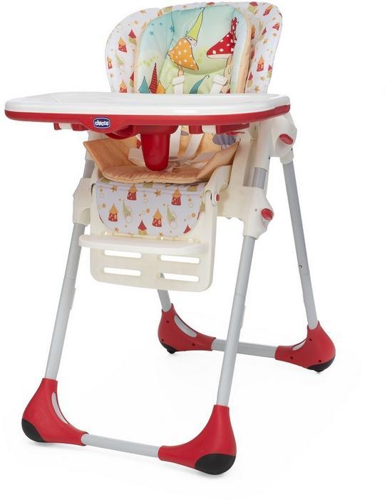 Chicco Artsana Polly 2w1 Timeless krzesełko do karmienia