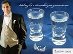 GRAWERNIA.PL Kieliszki grawerowane do wódki - na wesele lub imprezę