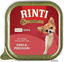 Rinti Gold Mini, 6 x 100g - Jeleń z wołowiną
