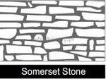 Ceresit Szablon VISAGE 1040 mm x 880 mm - Sommerset stone - wzór kamień 15szt