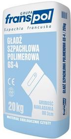 Franspol Polimerowa gładź szpachlowa GS-4 20kg 6505824D