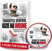 Dom Wydawniczy Rafael Towarzysz generał idzie na wojnę (książka + [DVD]