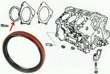 ROżNE Uszczelniacz wału tył silnika Dodge Avenger 2,5 V6
