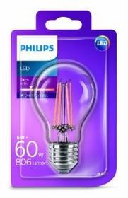 Philips ŻARÓWKA LED 6W E27 230V BARWA CIEPŁA FILAMENT 929001237201