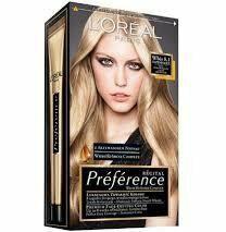 Loreal Recital Preference 8.1 Jasny Blond Popielaty