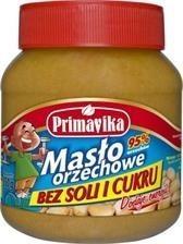 Primavika Masło orzechowe naturalne 350g -