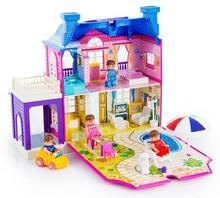 Kinderplay DOMEK dla lalek, otwierany garaż