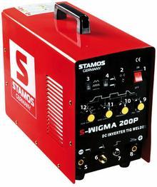 Stamos TIG WIG MMA S-WIGMA 200P