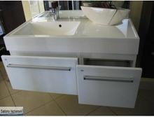 Antado Zestaw szafek z umywalką (FM-442/6 + FM-442/4 + UNAM - 1004)