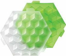 Lekue Foremki do lodu Ice Cube zielone 0250500V05C003