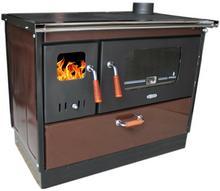 Koper piec kuchenny na drewno Special 90 brązowy
