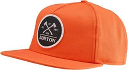 Burton Czapka z daszkiem - Mb Woodsman Snpbk Light Orange (820) rozmiar: OS