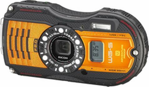 RicohWG-5 GPS pomarańczowy