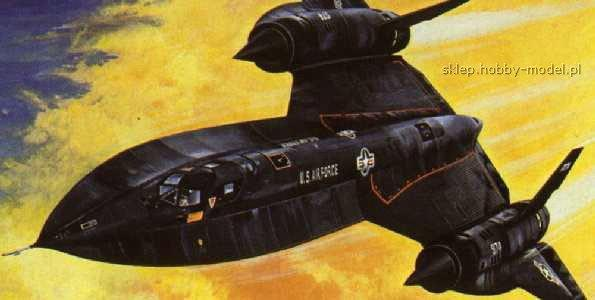 Italeri 0145 SR-71 BLACKBIRD