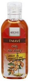 Bione Cosmetics Keratin Argan olejek do włosów ciemnych 80ml