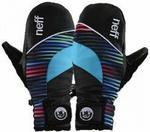Neff Rękawice snowboardowe damskie WOMENS MITTSY MITT/BLACK + transport bezpła