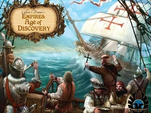 Eagle Gryphon Games Empires Age of Discovery Deluxe
