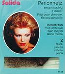 Solida Siatka na włosy Perlon, 2szt