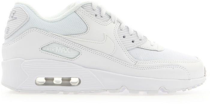 Nike Air Max 90 Mesh GS 833418-100 biały – ceny 032ecac2a28