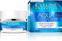 Eveline Aqua Collagen 55+ Intensywnie liftingujący krem nawilżający na dzień/noc 50ml