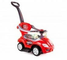 Mega Car + Daszek 3W1 Czerwony Iw091