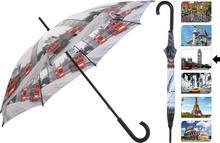 Parasol manualny CITY, Parasolka - 105 cm - londyn DB7215140