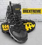 Reis BREXTREME S3 SRC - nubukowe buty robocze typu trzewik. wzmocnie na czubku. odblaski z boku - 39