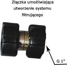 Formaster Złączka do szeregowego montażu filtra EKO-DAFI