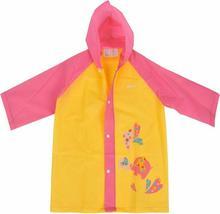 Martes Peleryna przeciwdeszczowa dziecięca ponczo Bunny Kids - Yellow/Pink