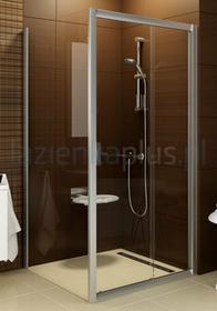Ravak Blix BLPS-100 ścianka prysznicowa stała satyna + grafit 9BHA0U00ZH