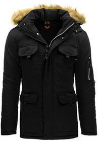 Kurtka męska zimowa czarna (tx1435) tx1435_m Czarny