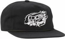 Coal czapka z daszkiem The Abunai Crew SE Black 01)