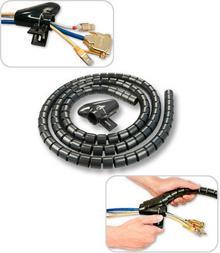 Lindy 40575 Maskownica, osłona, organizer do kabli gr.25mm - 2m