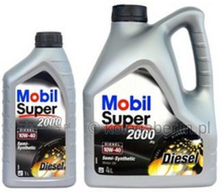 MobilSuper 2000 X1 Diesel 10W40 4L+1L