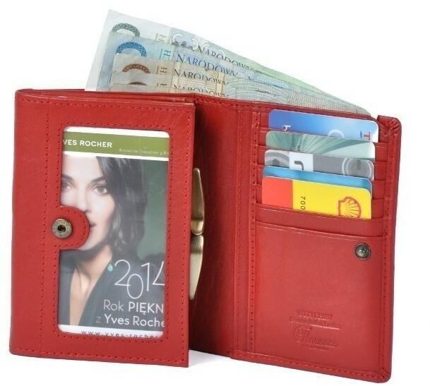 b12b2718ee9a4 Wittchen Portfel damski 14 1-070 czerwony 14 1-070-3 – ceny, dane ...